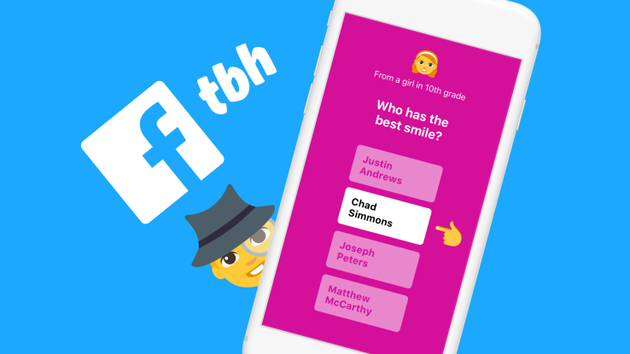 匿名应用公司TBH被Facebook收购其成立还不到3个月
