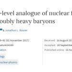 美国以色列科学家发现夸克融合释放能量相当于核融合的10倍