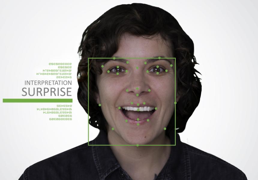 Cloverleaf推出数字化货架展示系统可根据用户表情改变文字内容 机器视觉 第2张