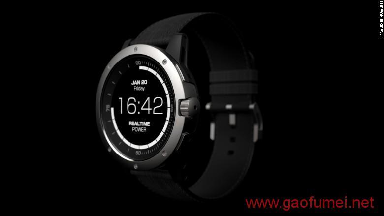 世界首款无需充电智能手表发货身体成为发电装置