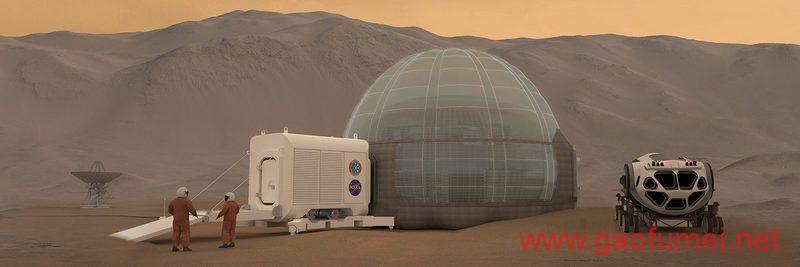 NASA计划在火星建造冰屋用于人类居住