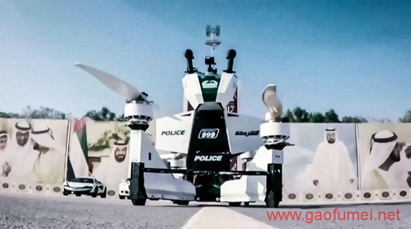 土豪迪拜将引入飞天摩托载人时速突破70公里