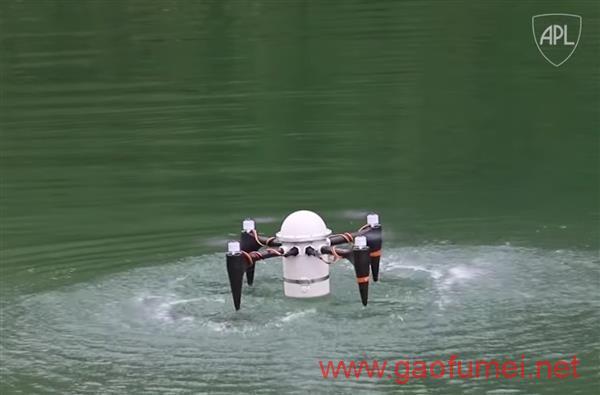 约翰·霍普金斯大学正在研制仿飞鱼两栖无人机隐蔽性极佳的情报刺探工具