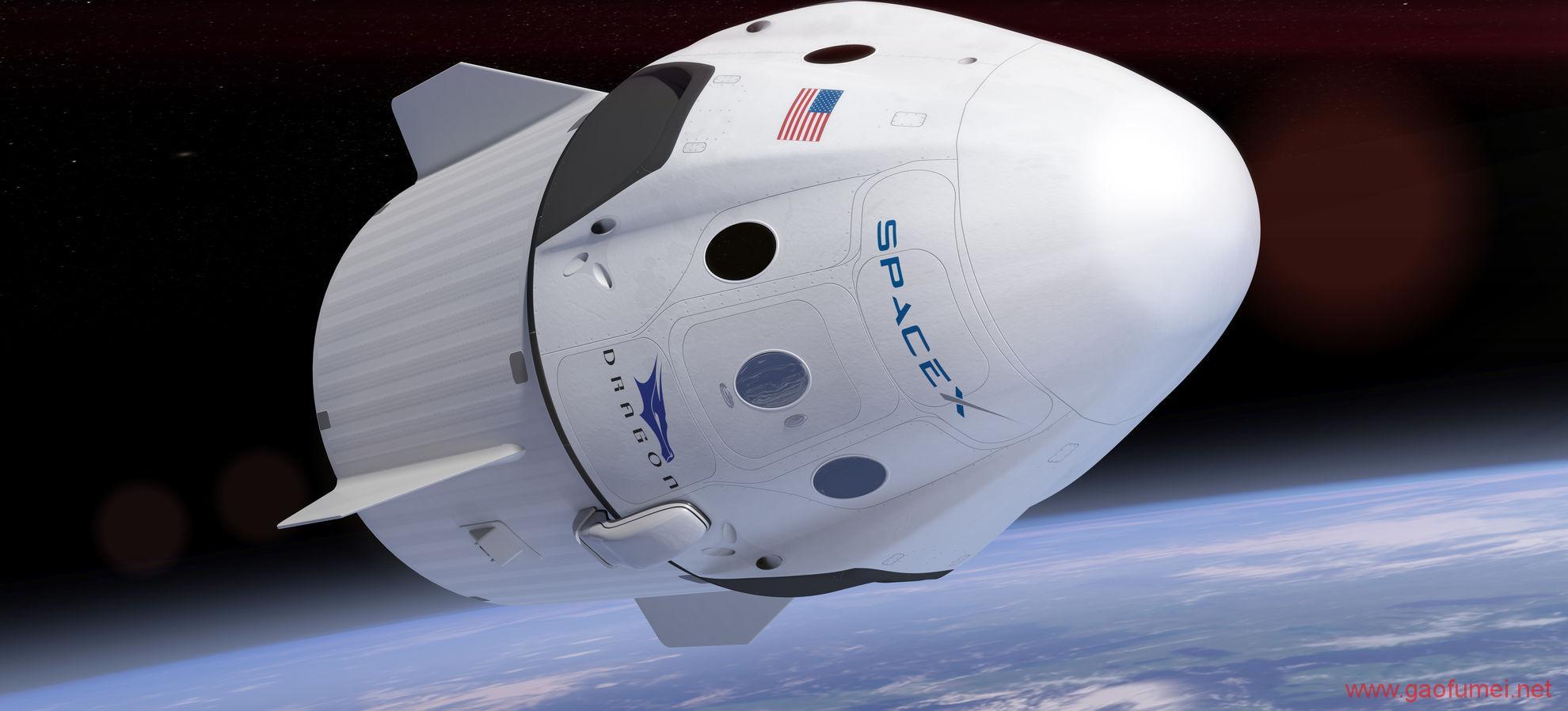 继二次回收运载火箭之后二手太空船也被SpaceX成功回收了