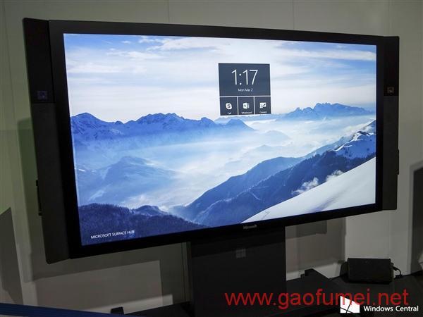 微软发布Surface Hub其背后技术团队强大