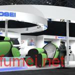 日企展示电子橡胶概念车将于2030年推出