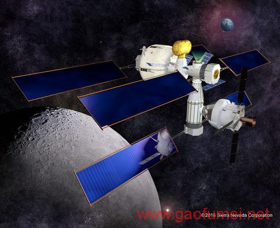 建造一个太空中的家为移民火星做准备