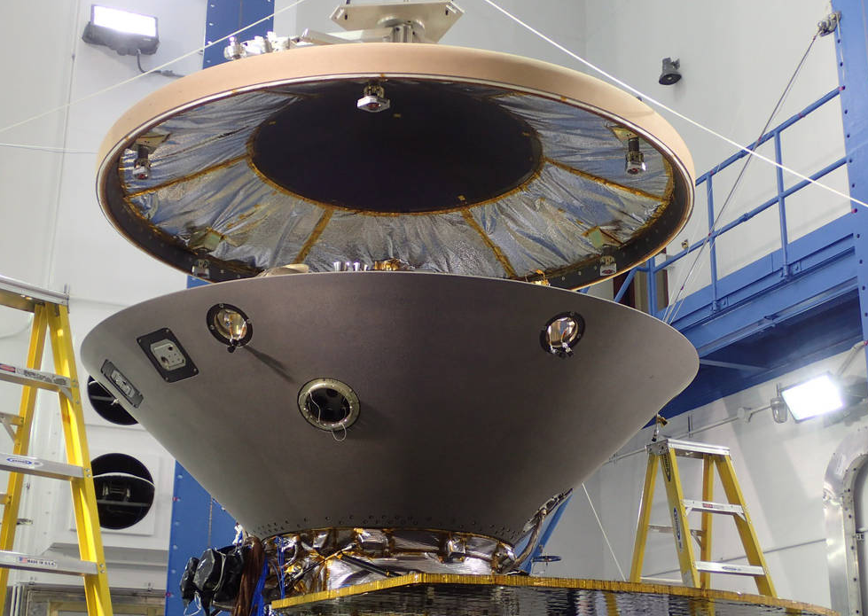InSight号火星探测器通过热真空测试将于明年5月前往火星