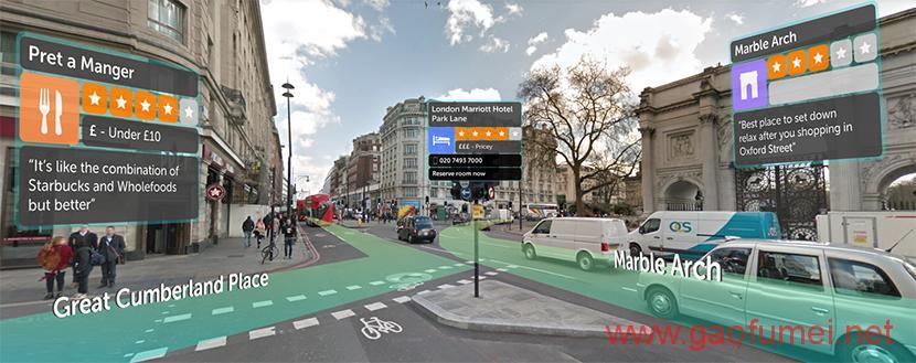 Blippar发布AR导航软件为路痴带来福音
