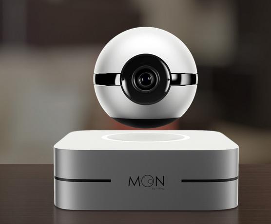 1-Ring推出磁悬浮摄像头监控同时还能识别噪音