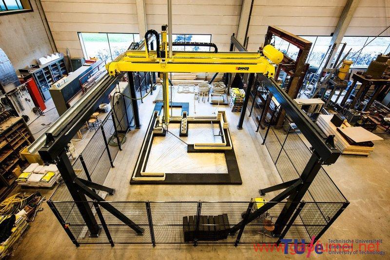 埃因霍温科技大学研制出3D打印自行车桥为造出智能建筑先实现个小目标 3D打印 第2张
