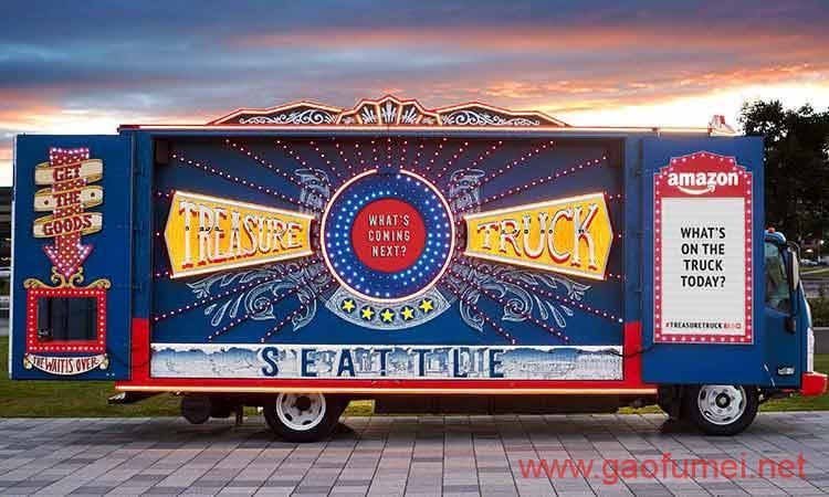 亚马逊准备将宝藏卡车开到全美国用创新零售拉拢客户