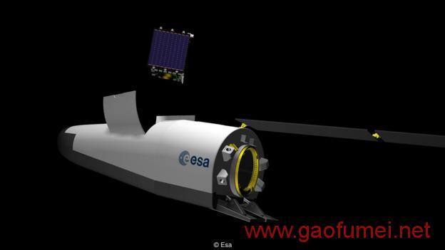 欧空局开发新型太空飞机可重复使用