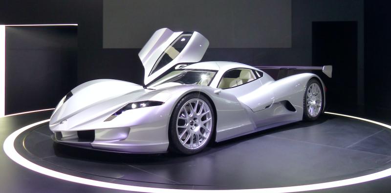日企研发世界最快电动跑车百公里加速不到2秒