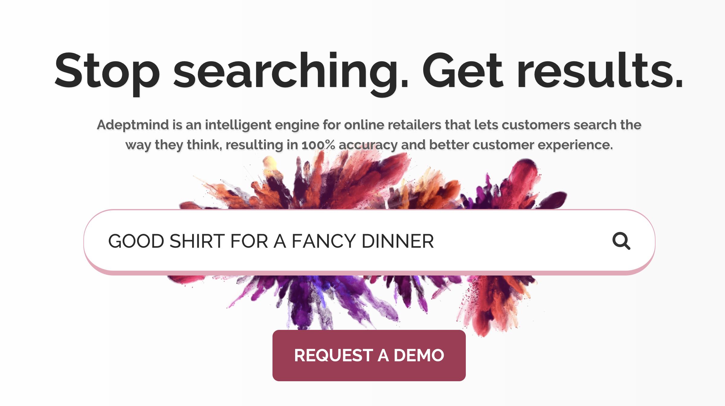 购物搜索引擎AdeptMind获550万美元种子投资与谷歌在垂直细分领域竞争