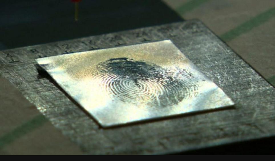 英国科学家研发出指纹检测技术犯罪行为将无所遁形