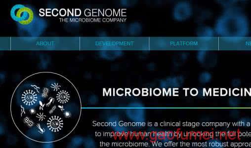 Second Genome获4200万美元B轮融资辉瑞、罗氏联手注资