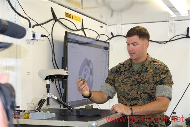 美国海军陆战队评估移动加工实验室用3D打印增强部队后勤实力 3D打印 第2张