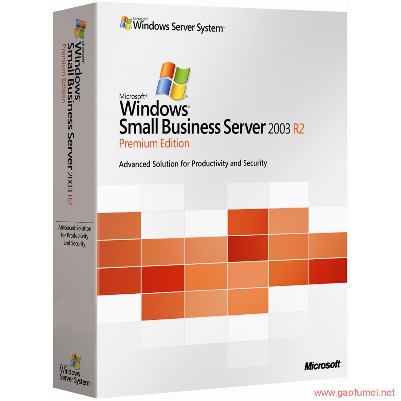 Windows Server 2003 R2 各种版本下载