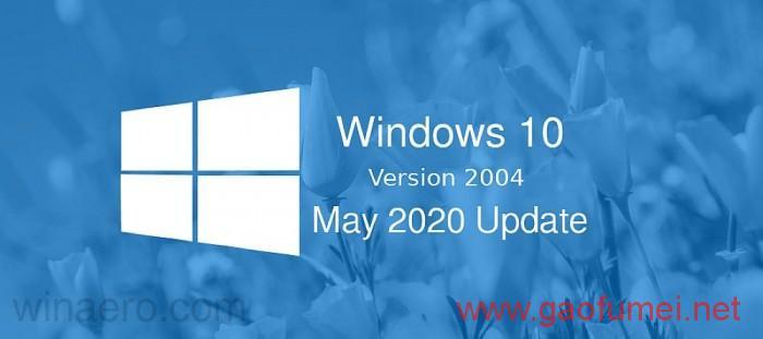 Windows 10 2004最新版,发布时间:2020-06-16 ,种子下载地址分享