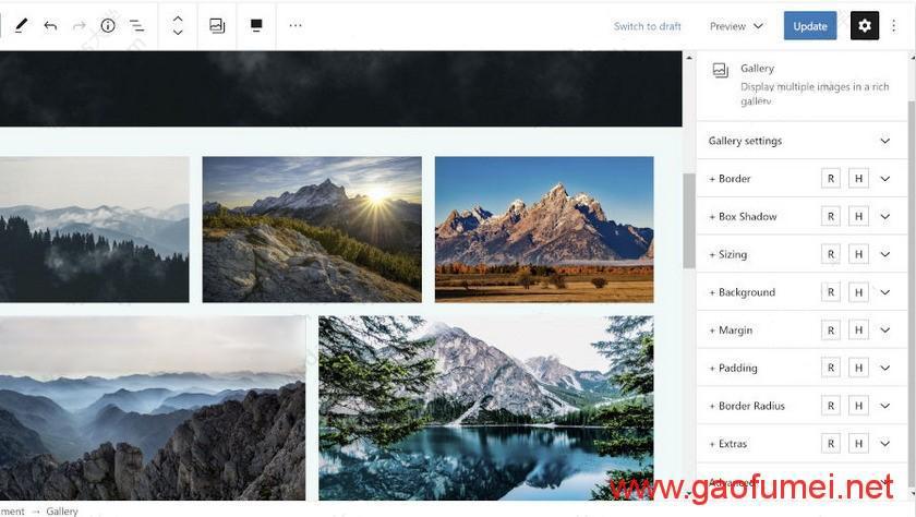 WordPress 古腾堡区块设计选项增强插件 EditorPlus 介绍及下载分享