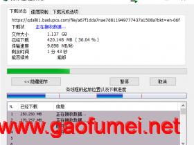 神器配合IDM实现超5GB百度网盘文件加速下载,使用技巧分享。(亲测有效)